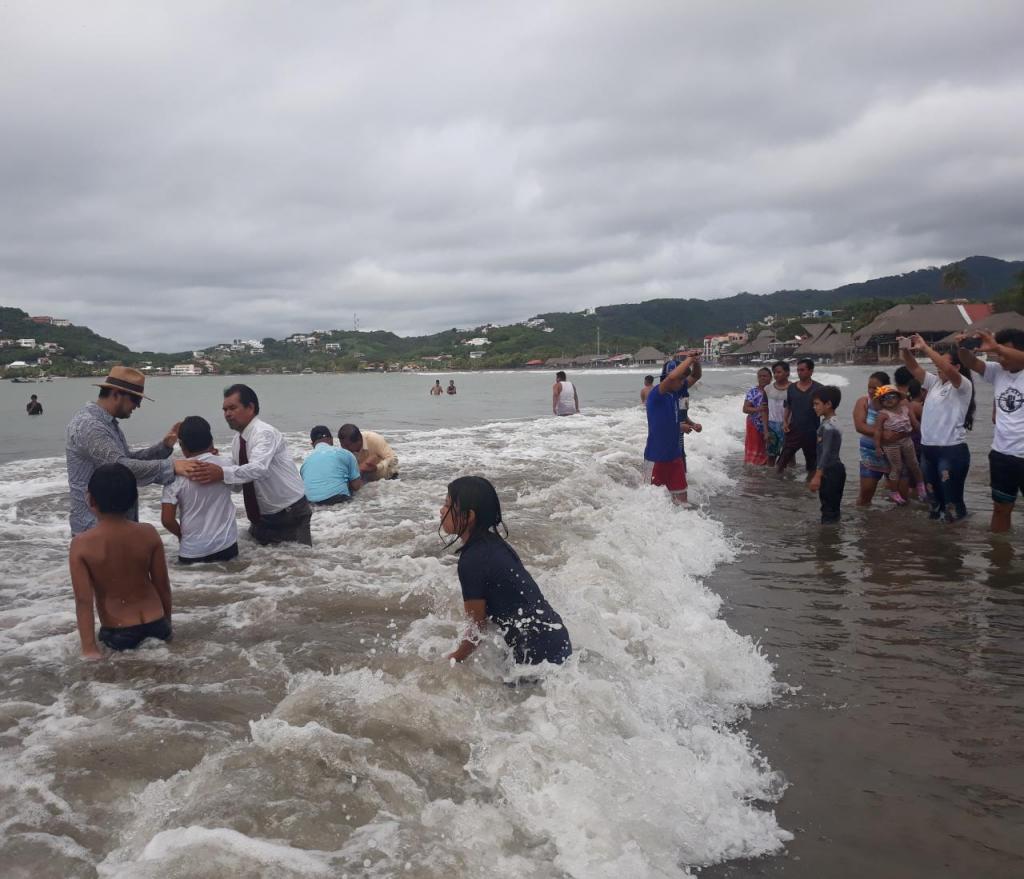 Bautizos en San Juan del Sur