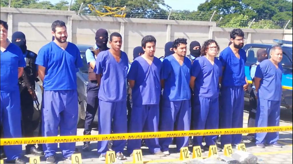 Policía Nacional presenta a terroristas capturados en Masaya - Radio YA