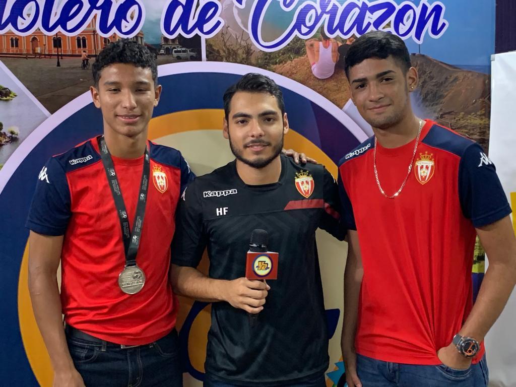 Los Subcampeones Centroamericanos Real Estelí Sub 17 visitaron Tu Nueva Radio YA - Radio YA