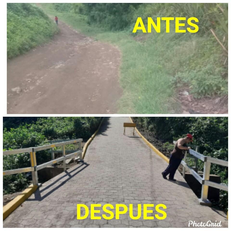 Masatepe inaugura más Calles Para El Pueblo - La Nueva Radio YA