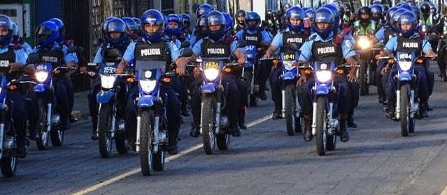 Policía de Nicaragua Plan Navidad