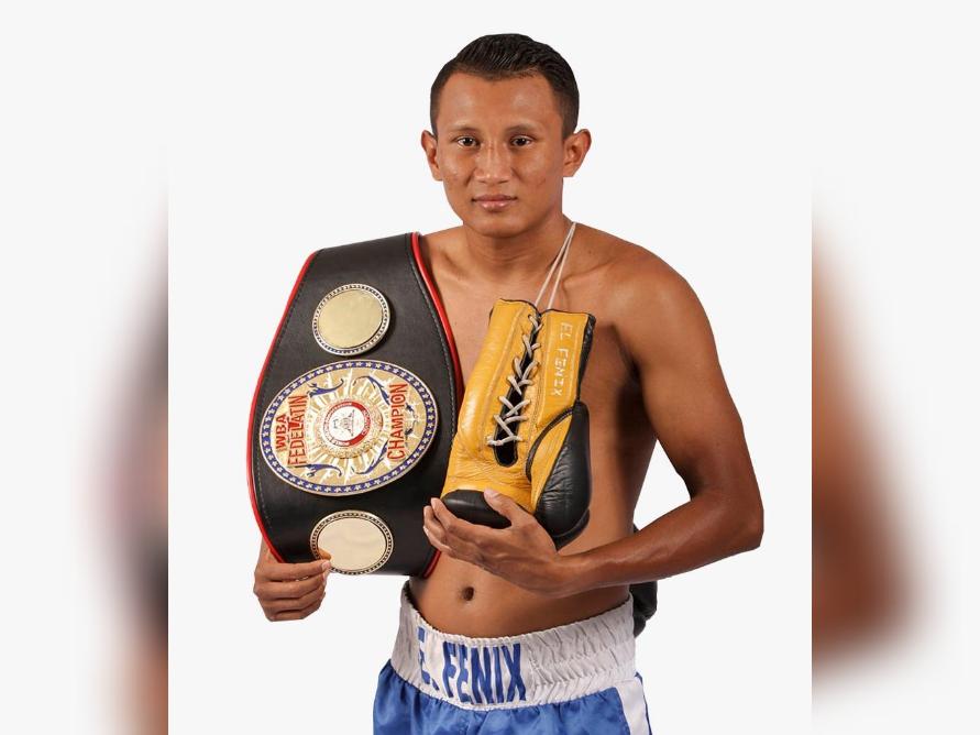 El pugilista nicaragüense Leyman Benavides