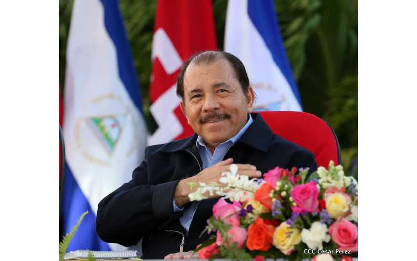 Daniel Ortega Presidente de Nicaragua