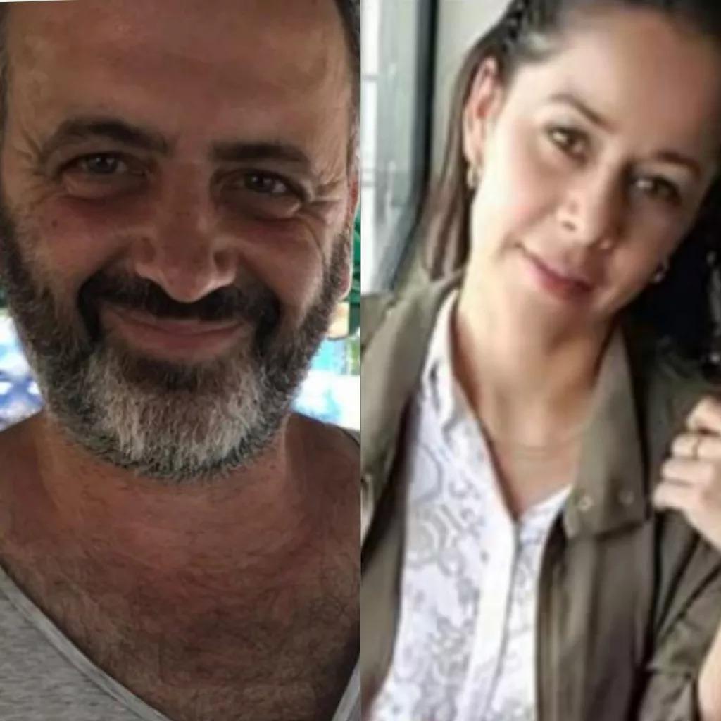 El italiano Giacomo Fiorino y su compañera de vida nicaragüense