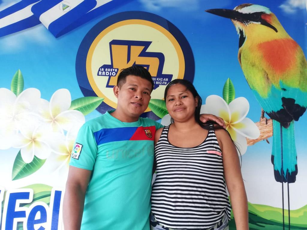 Roger Hernández Sánchez y Luisa Guerrero Bermudez