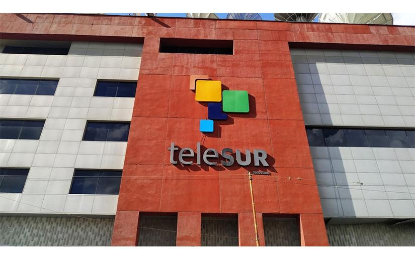 Telesur en Caracas