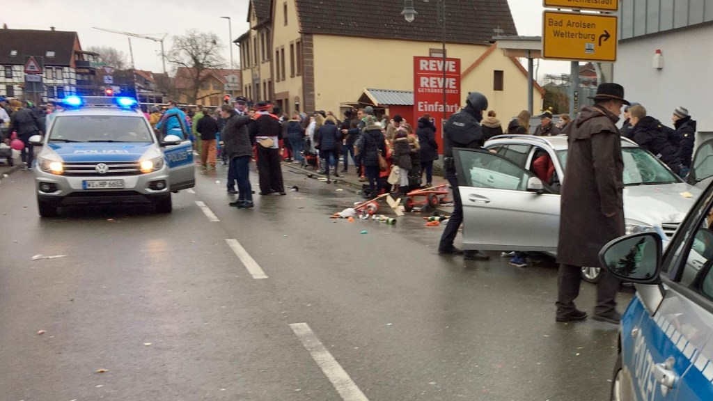 Atropello masivo en Alemania