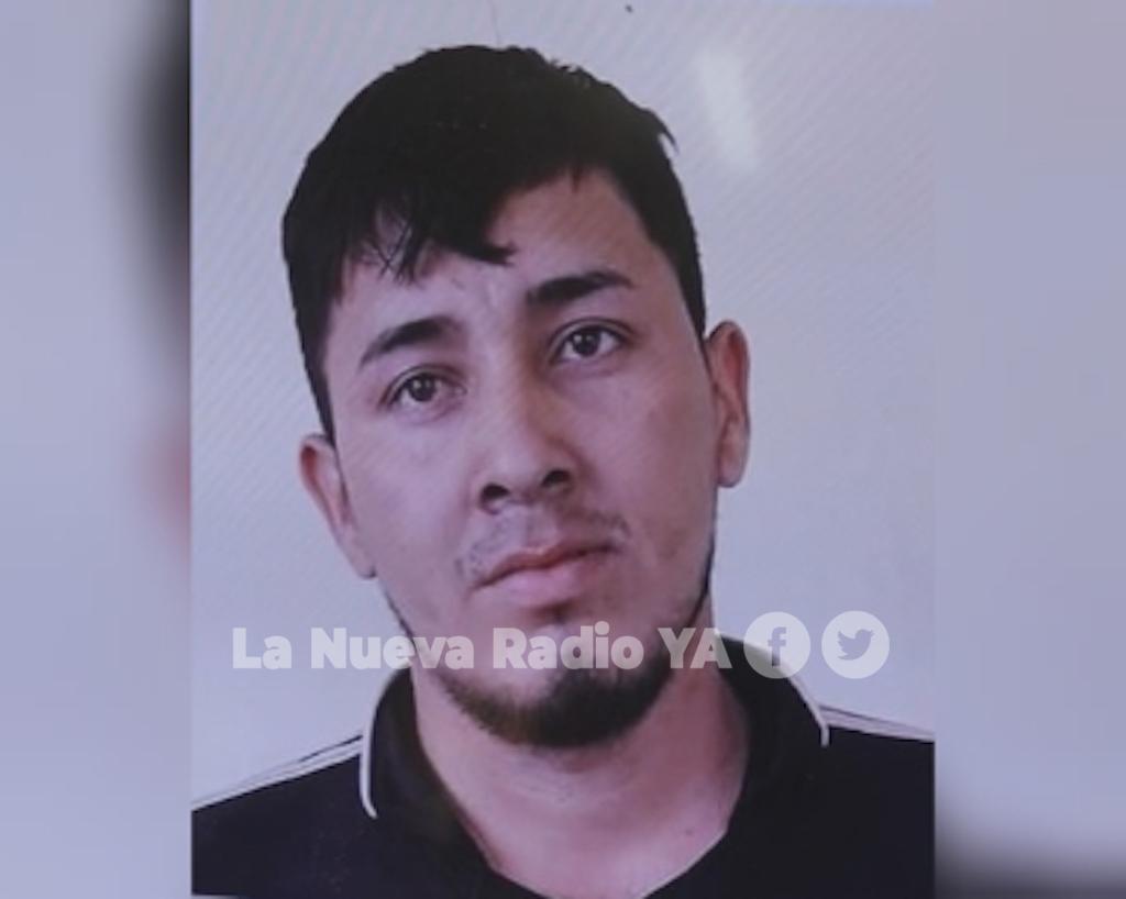 El delincuente Pablo Antonio Chavarría