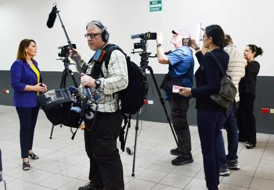 Periodistas internacionales