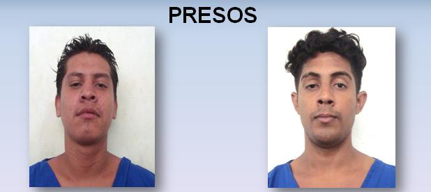 Presos en Managua