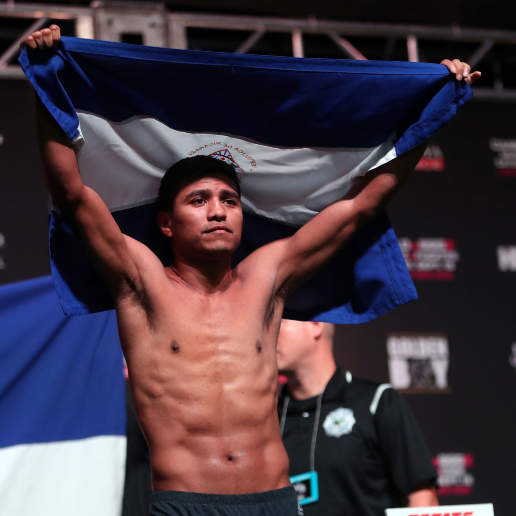 "El boxeador nicaragüense Román ""Chocolatito"" González"
