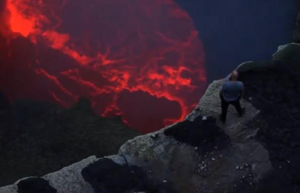 Nik Wallenda caminará sobre la lava