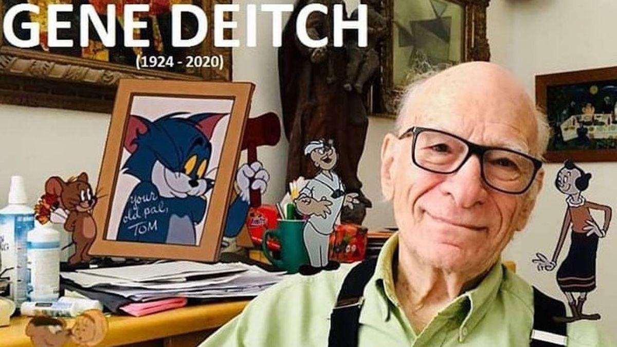 Murió Gene Deitch, el legendario dibujante de Tom y Jerry