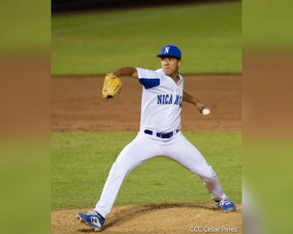 El lanzador jinotegano Luis Castellón
