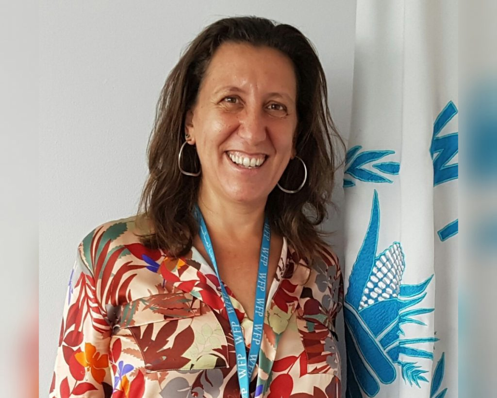 Antonella D'Aprile, representante del PMA en Nicaragua