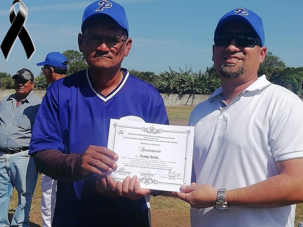 Compañero Freddy Dávila (Q.E.P.D.)