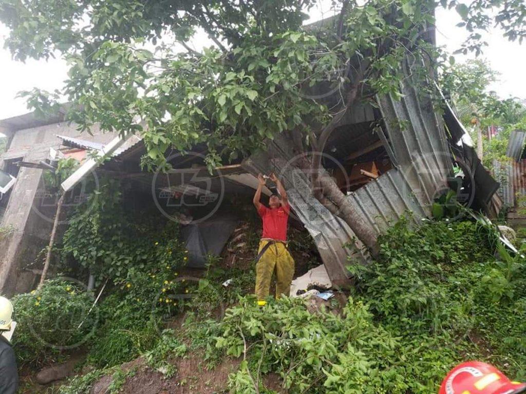 11 personas fueron rescatadas con vida tras un deslizamiento que afectó dos viviendas en Matagalpa, Nicaragua