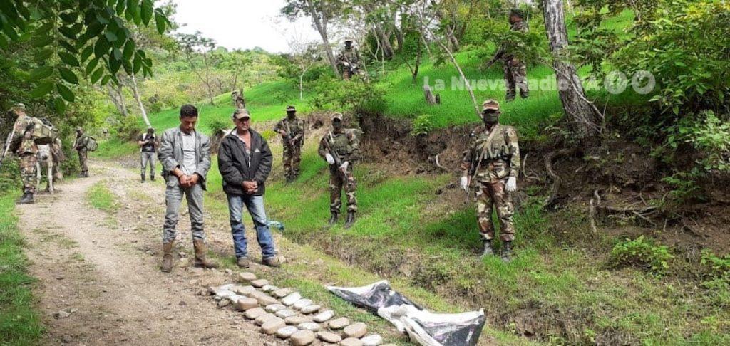 Tres hondureños fueron capturados en el sector de El Espino