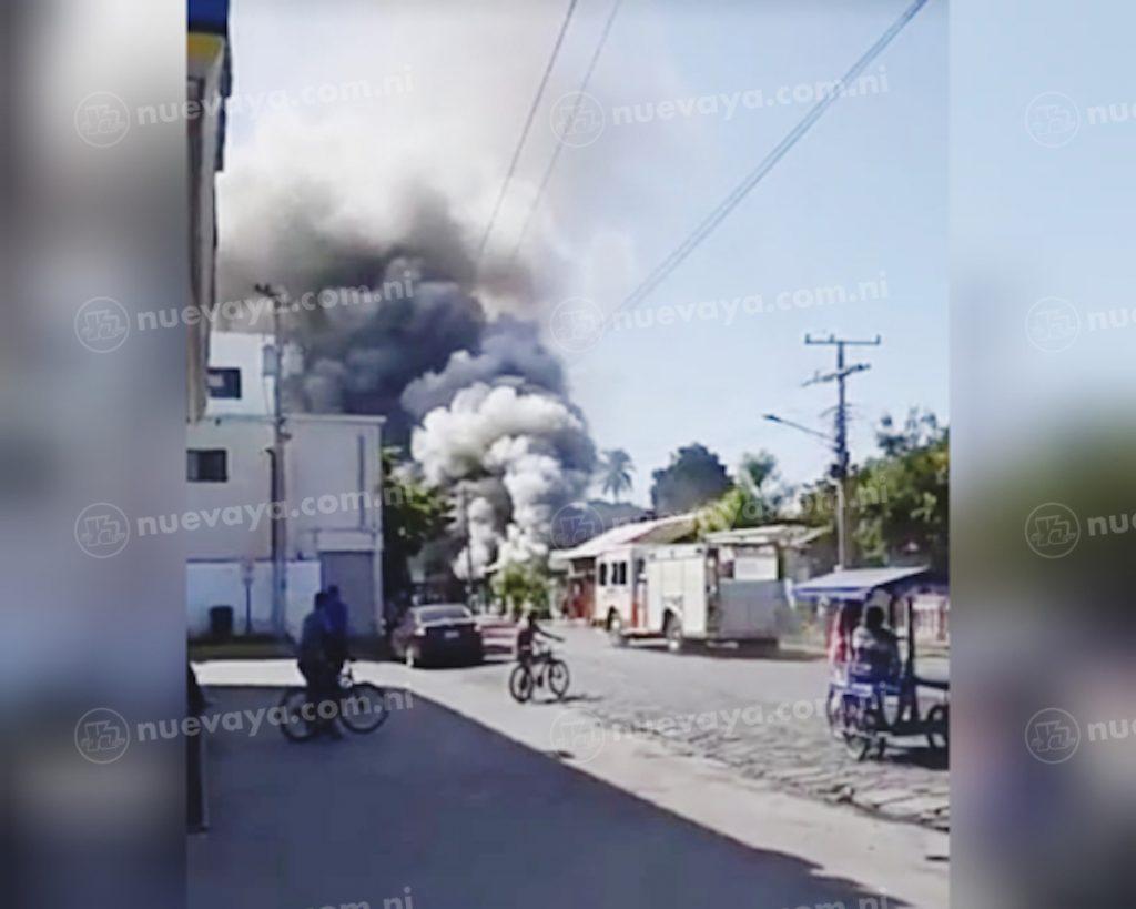 Dos familias lo perdieron todo tras incendiarse su vivienda en Corinto