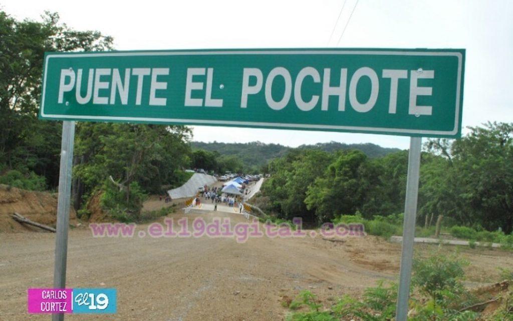 Puente El Pochote. Foto cortesía de El 19 Digital