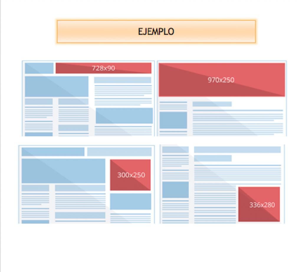 Ejemplos de banners en nuevaya.com.ni
