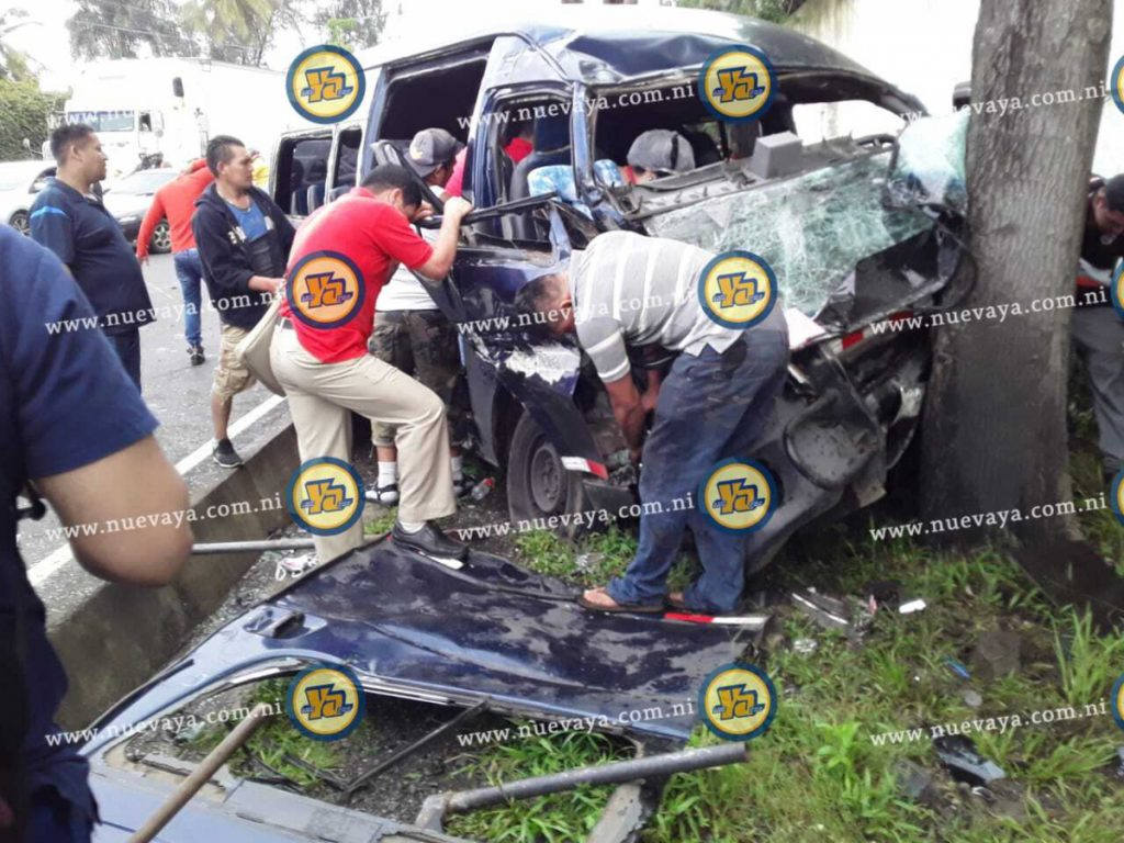 Accidente en Carretera Sur