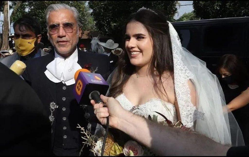 así fue la boda de Camila, la hija de Alejandro Fernández