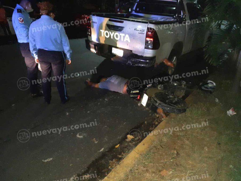 Luis Manuel Zelaya falleció en un accidente de tránsito en la Zona Hippos