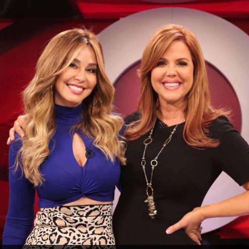 Myrka Dellanos y María Celeste Arrarás. Foto tomada de Instagram