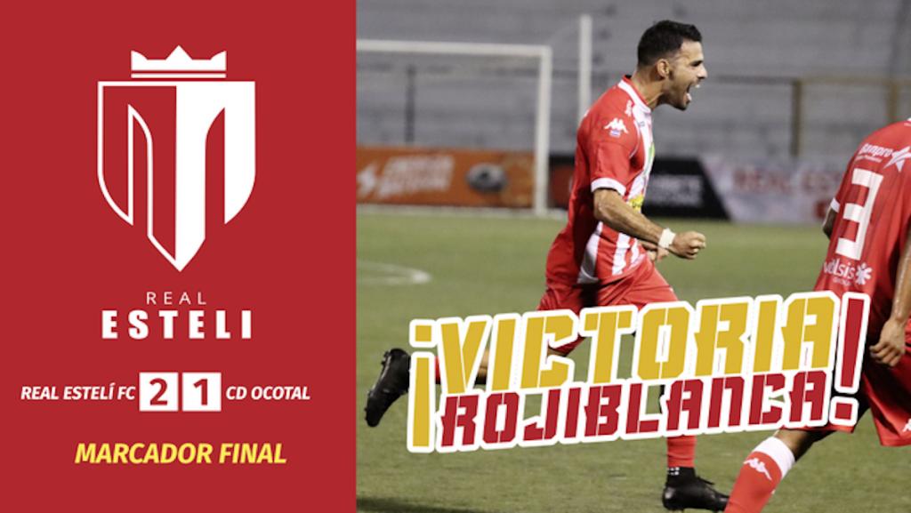 Real Estelí FC 2-1 CD Ocotal. Foto Cortesía Real Esteli @realestelifc