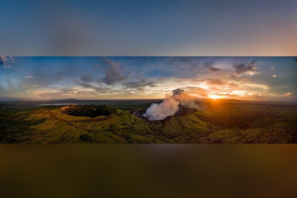 Complejo del volcán masaya en Nicaragua