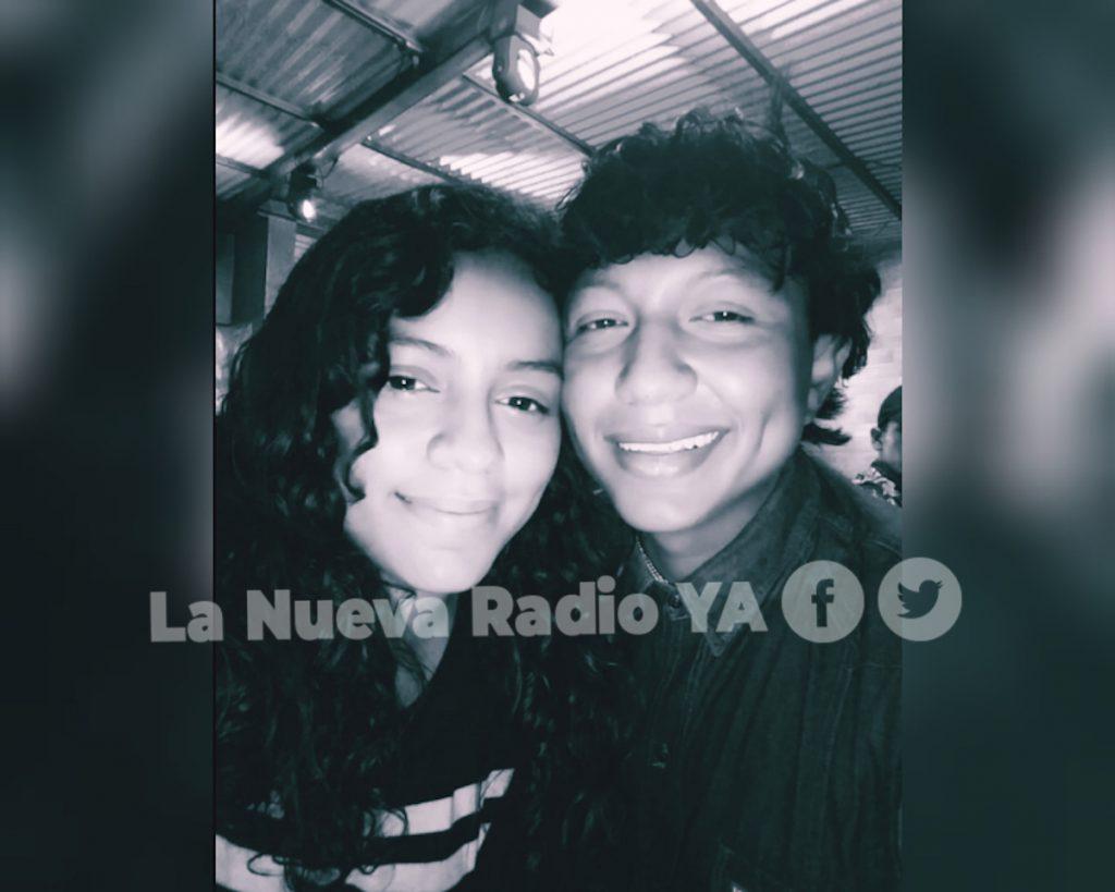 Axel Otero y su esposa Yeni Ramírez