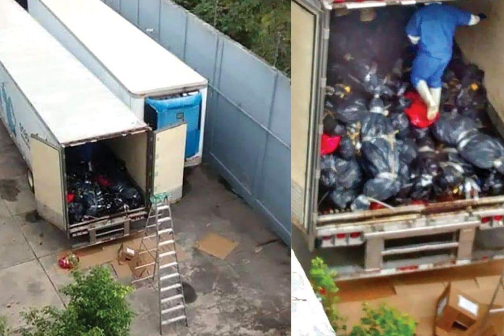 Costa Rica instaló contenedores para cadáveres