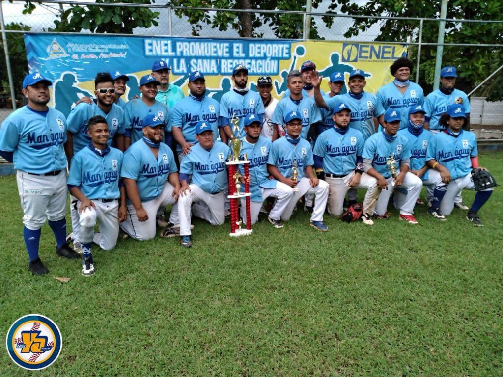 Managua campeón en el Nacional de Softball Rápido Sub-24