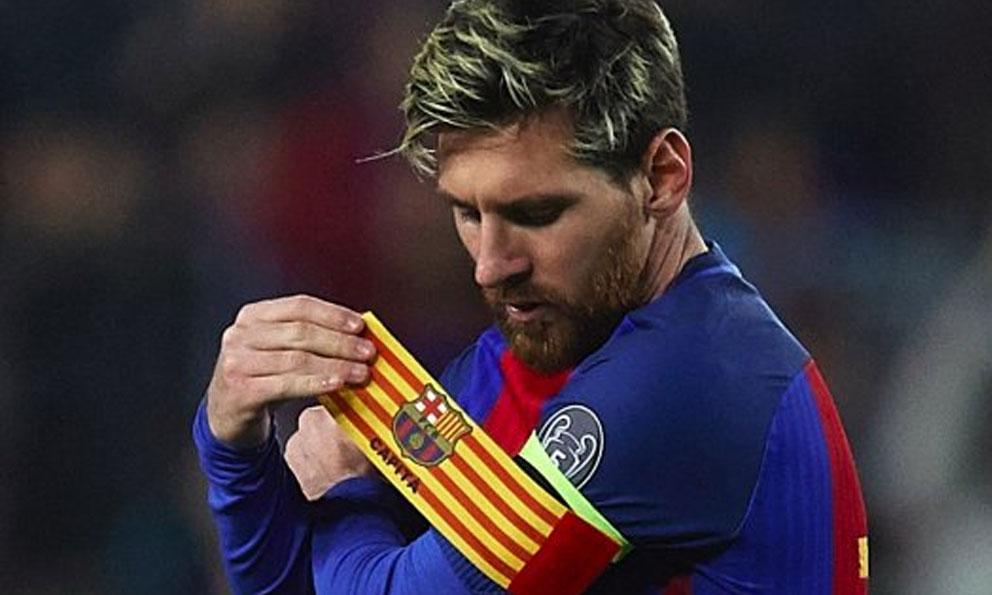 Messi seguirá siendo el capitán del Barcelona