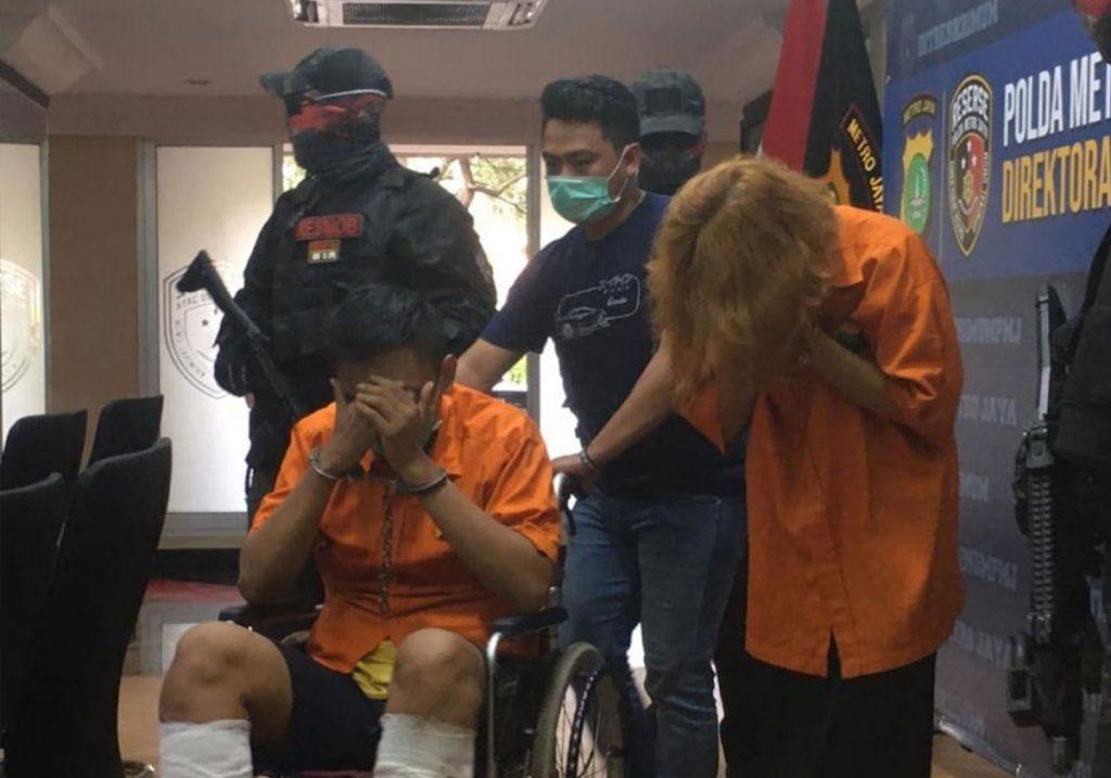 La pareja L.A.S y D.A.F. fueron detenidos por asesinar a un hombre y luego desmembrarlo en Tailandia