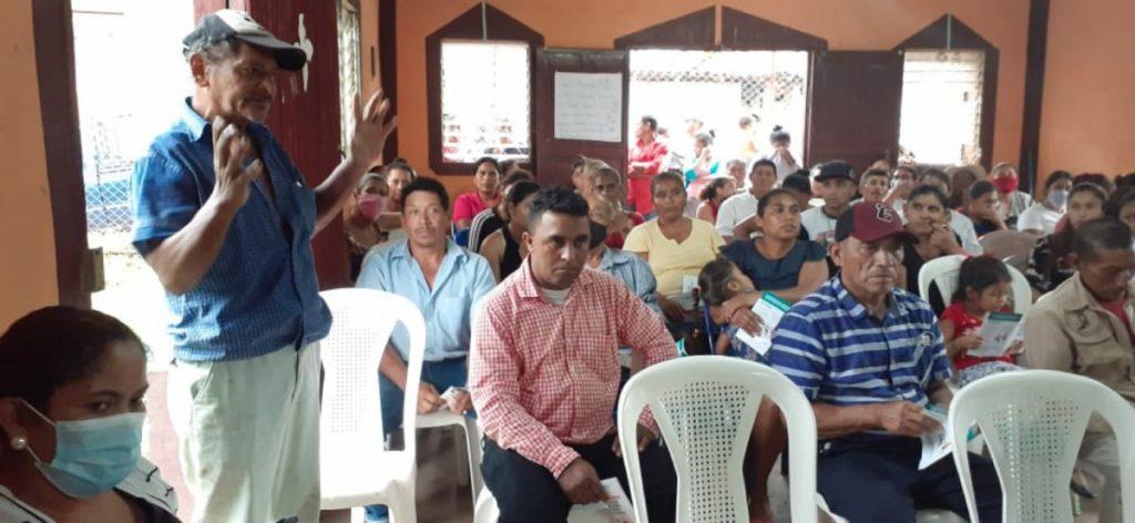 Amplia participación de protagonistas de la comunidad Las Cruces, Yalagüina.