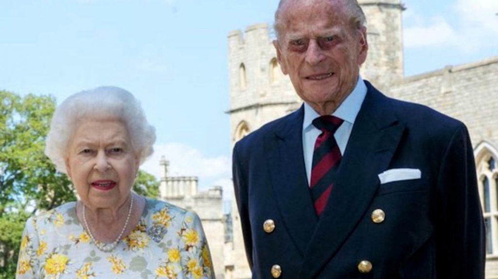 La Reina Isabel II y el príncipe Felipe de Reino Unido