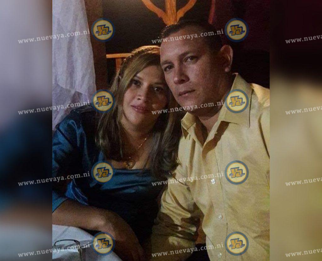 Luis Felipe Castillo y la doctora Doris Raquel Lanzas