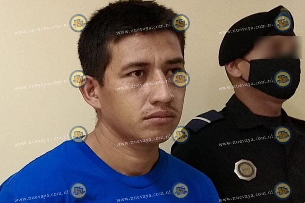 El detenido Marlon Andrés Aragón Alvarado
