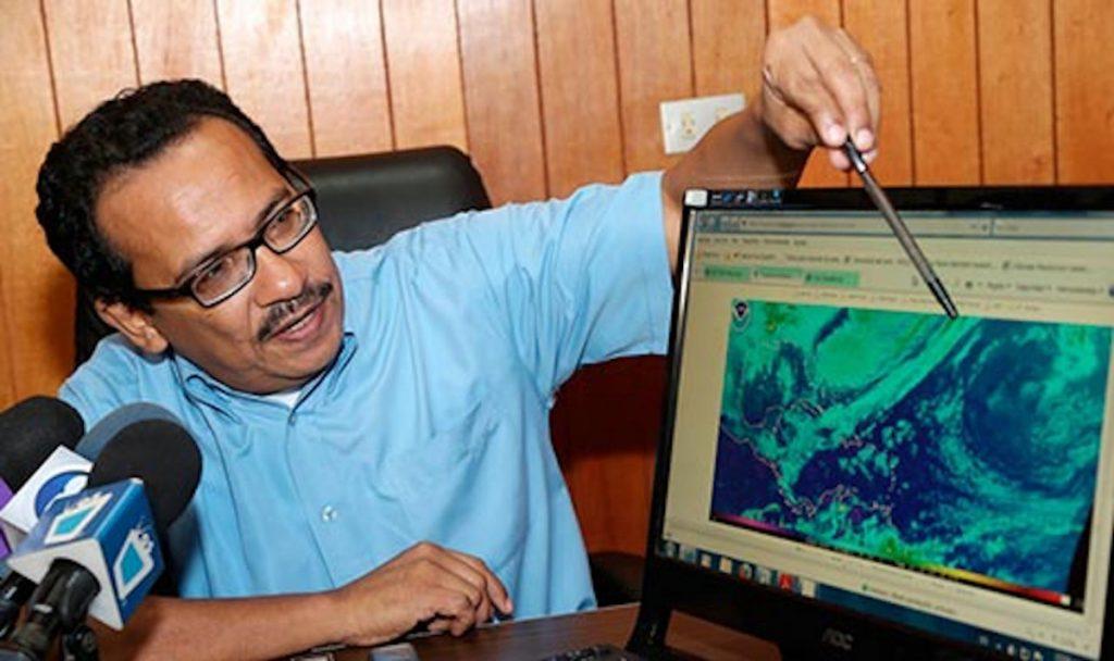 Marcio Baca, Director Meteorología del INETER