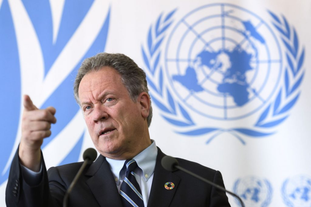 Director del Programa Mundial de Alimentos (PMA) de la ONU, David Beasley