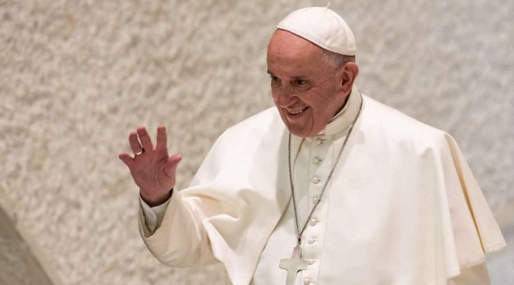 El Papa Francisco en el Vaticano. Foto: Daniel Ibáñez / ACI Prensa