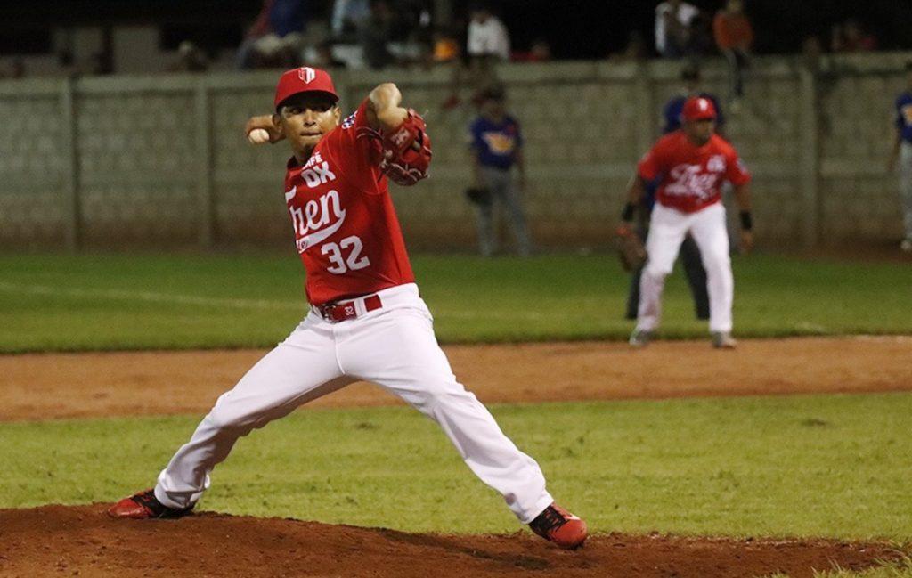 El lanzador nicaragüense Jesús Garrido