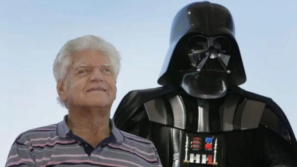 El actor David Prowse interpretó al Darth Vader Original en la Saga Star Wars