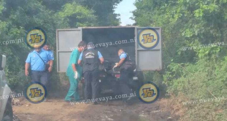 Hallazgo de cadáver en Managua