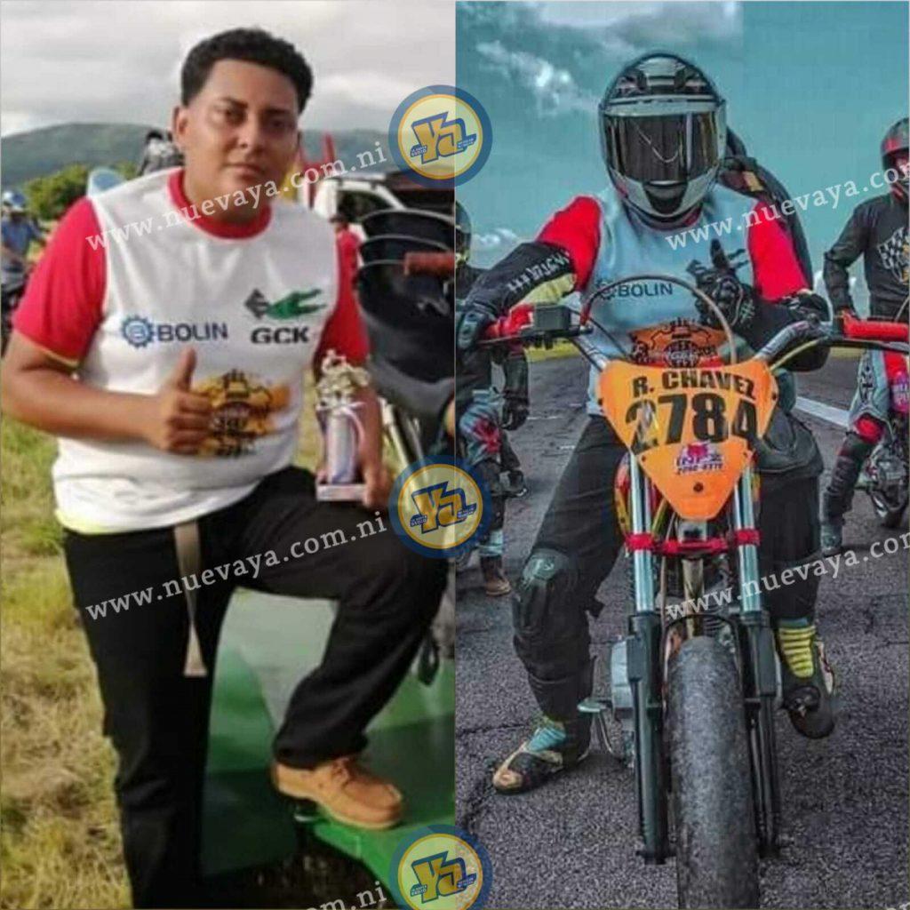 Raúl era un corredor de motos y su número era el 2,748