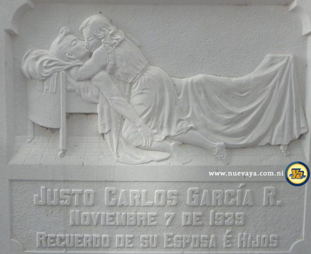 Tumba de Justo García en Managua, la podríamos llamar