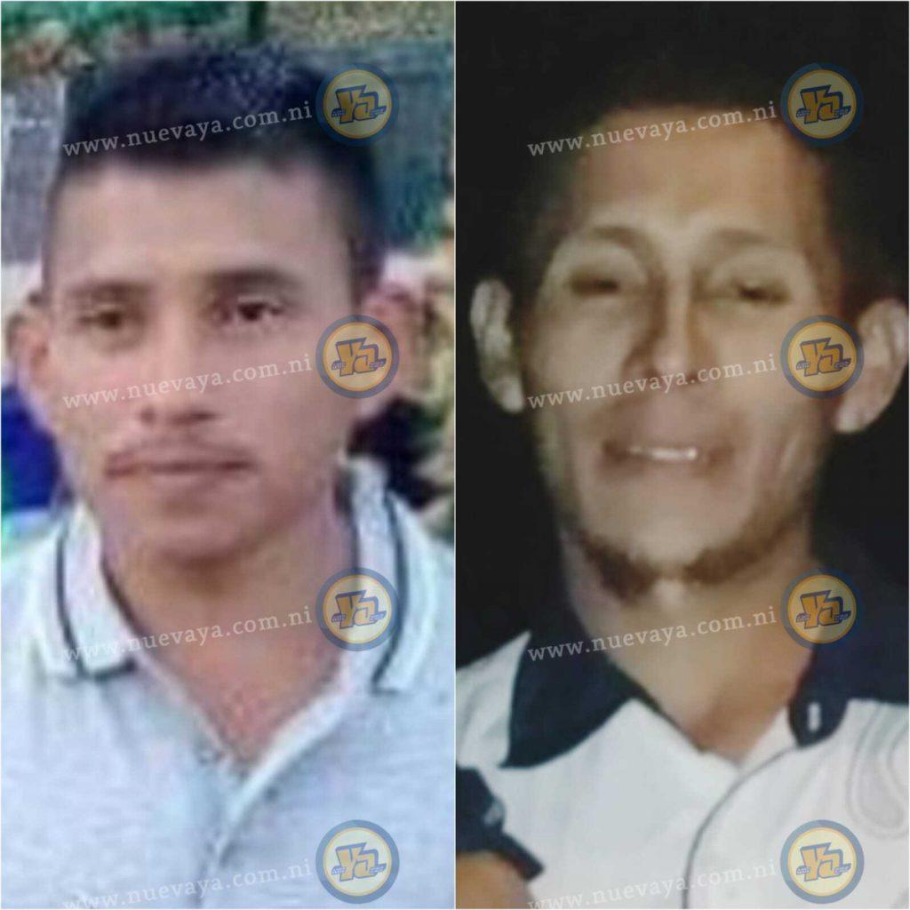 Los hermanos Pedro Wilmer y Jimmy Uriel Espinoza Aguilar están graves.