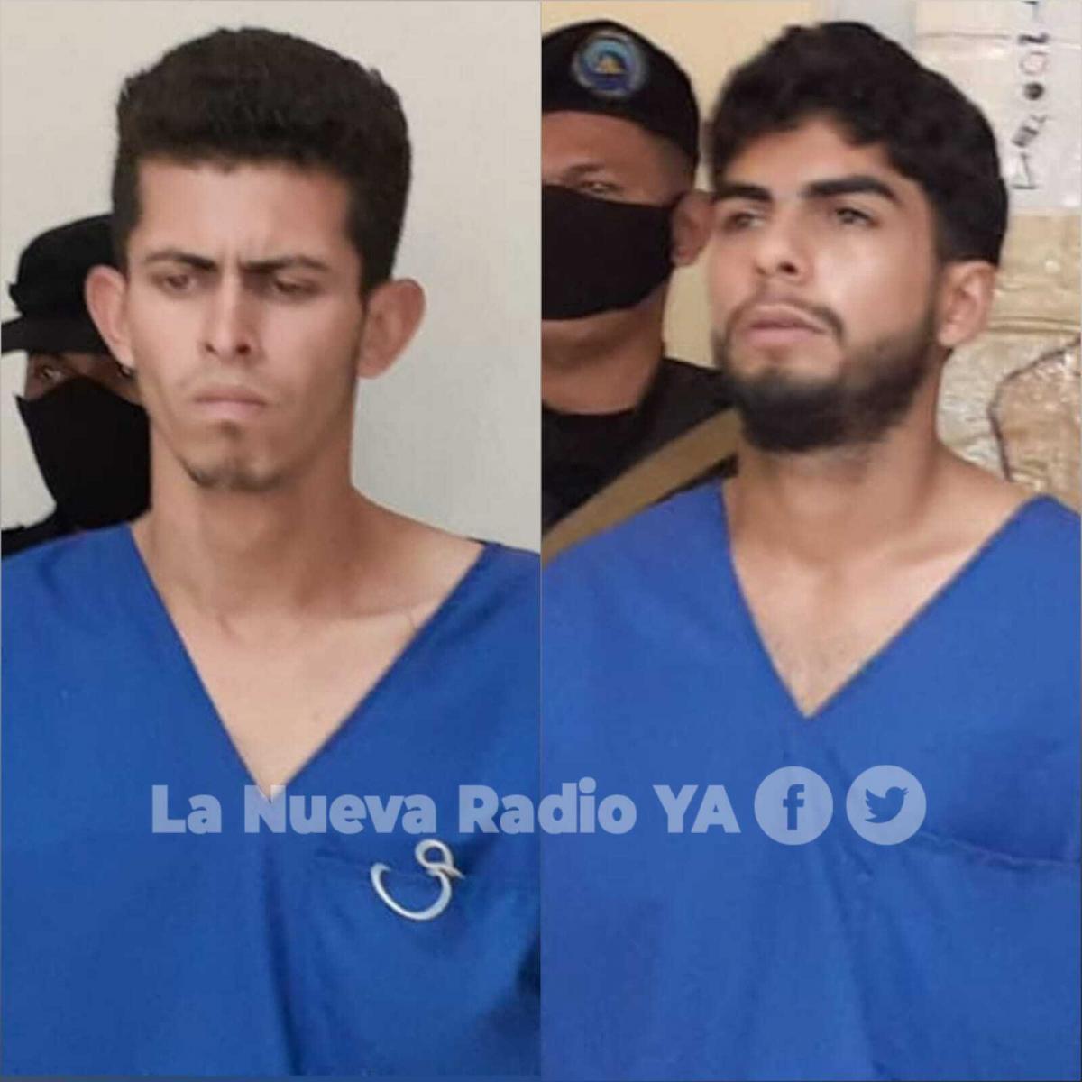 Los asesinos de una joven en Jalapa: Bryan Jordán Flores Chavez y Jairo Iván Pérez Castillo